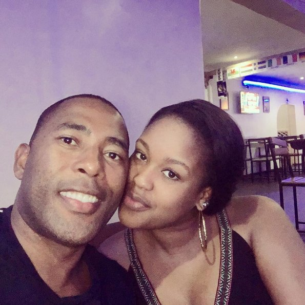 Kamene Goro and boyfriend