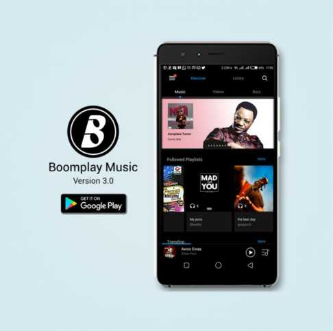 Download Boomplay on Google Play store