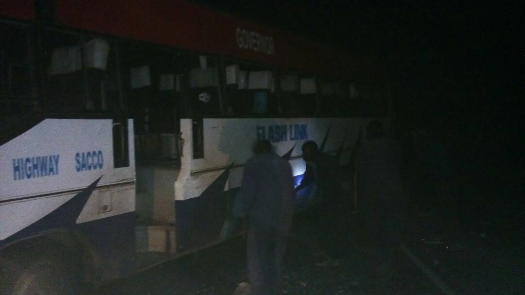 Highway Sacco Bus Accident