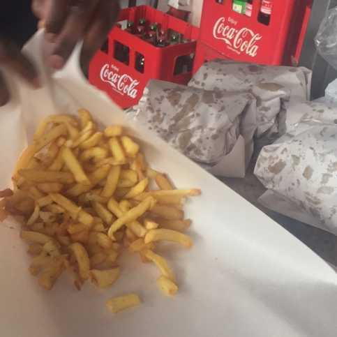 Fries from the duka at Sonford. Photo / COURTESY
