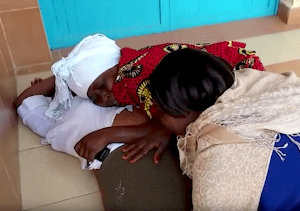 relatives get emotional after hearing the news of Susan Njeri's death