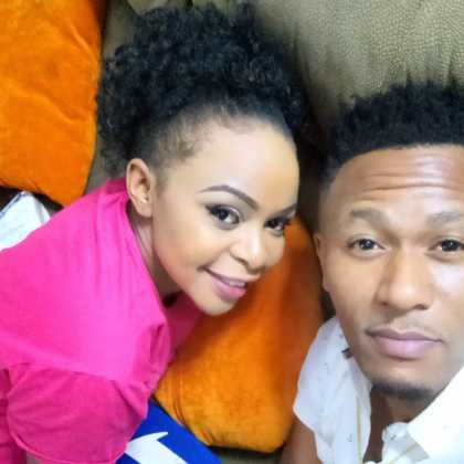 Size 8 and DJ Mo selfie