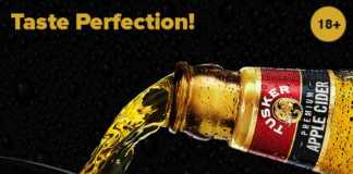 Tusker Premium Cider - Perfection