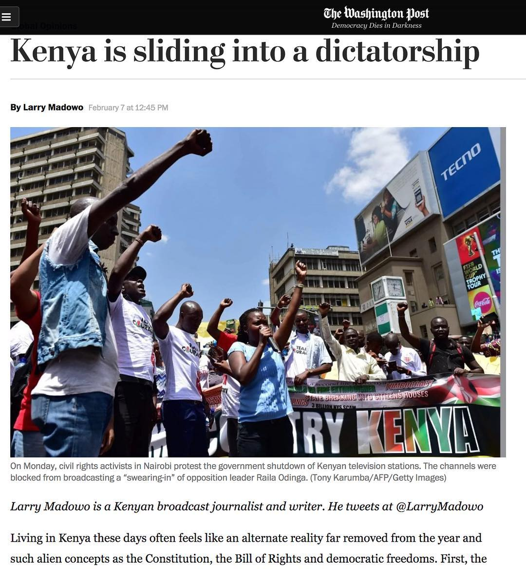 Larry Madowo article