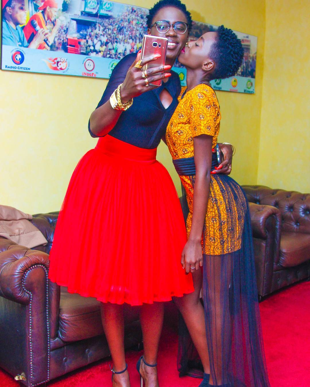 Akothee with her daughter Rue Baby