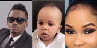 Diamond Platnumz amd Hamisa Mobetto's son