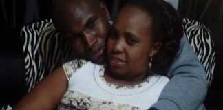 Lawrence Gitau and his wife