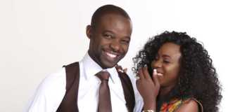 Evelyn Wanjiru and Husband