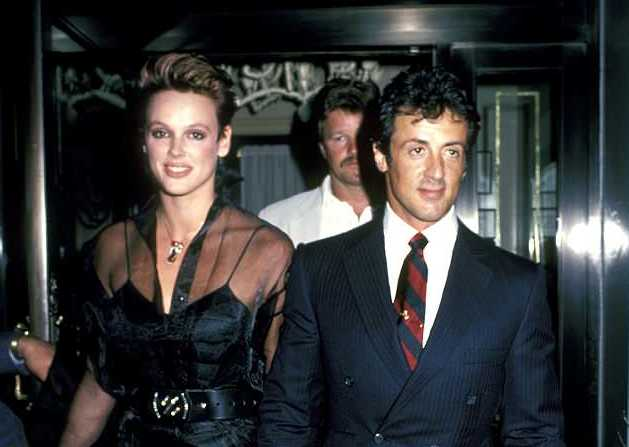 Mama yoooo! Sylvester Stallone's ex-wife has done the ...