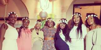 Lillian Muli's surprise baby shower