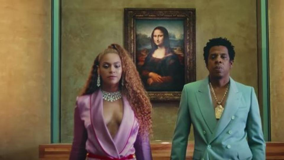 The carters on the song Apeshit
