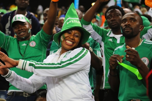 Nigeria Supporters World Cup