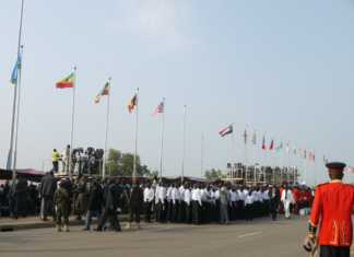 South Sudan independence parade