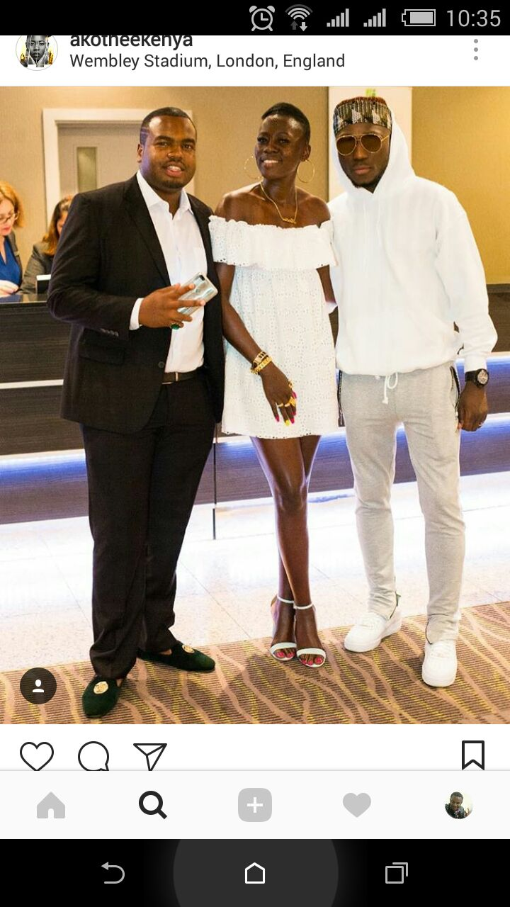 Akothee's manager
