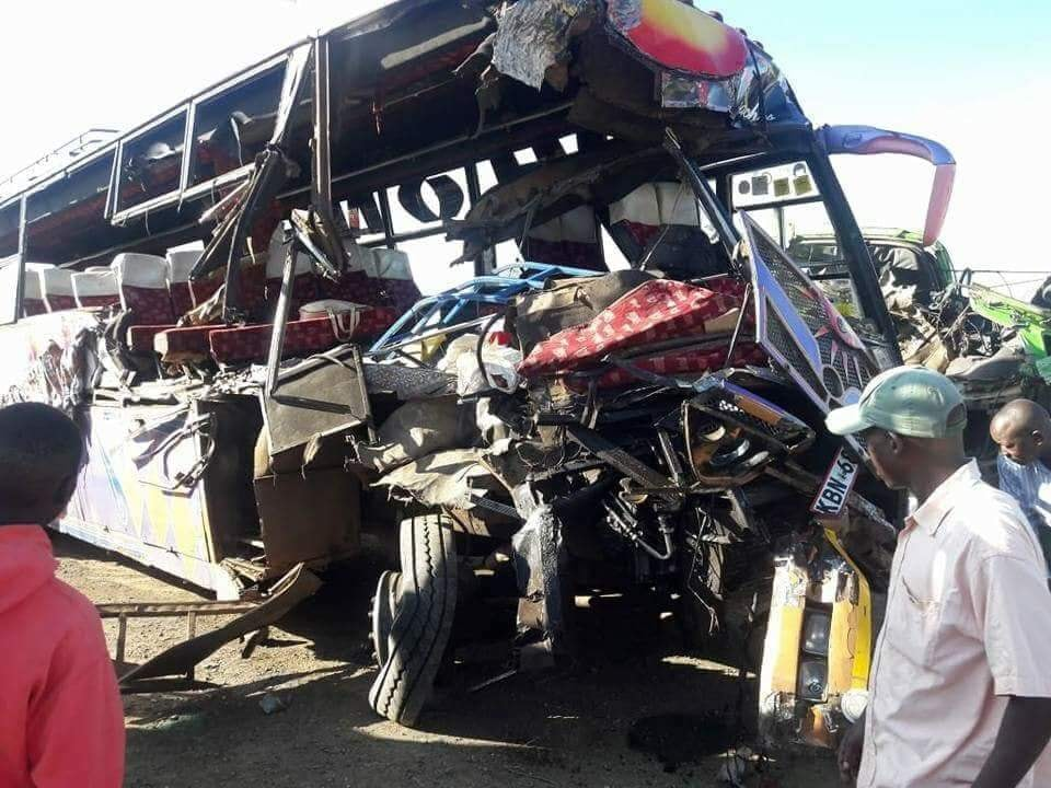 Climax bus accident near Gilgil
