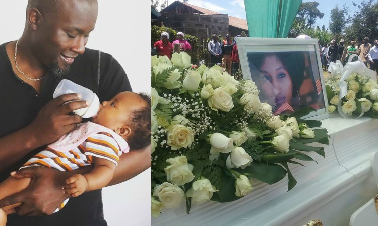 'I was forced to become a mum to a 3 month old baby' Tedd Josiah reminisces on his wife's death as the world celebrates mother's day