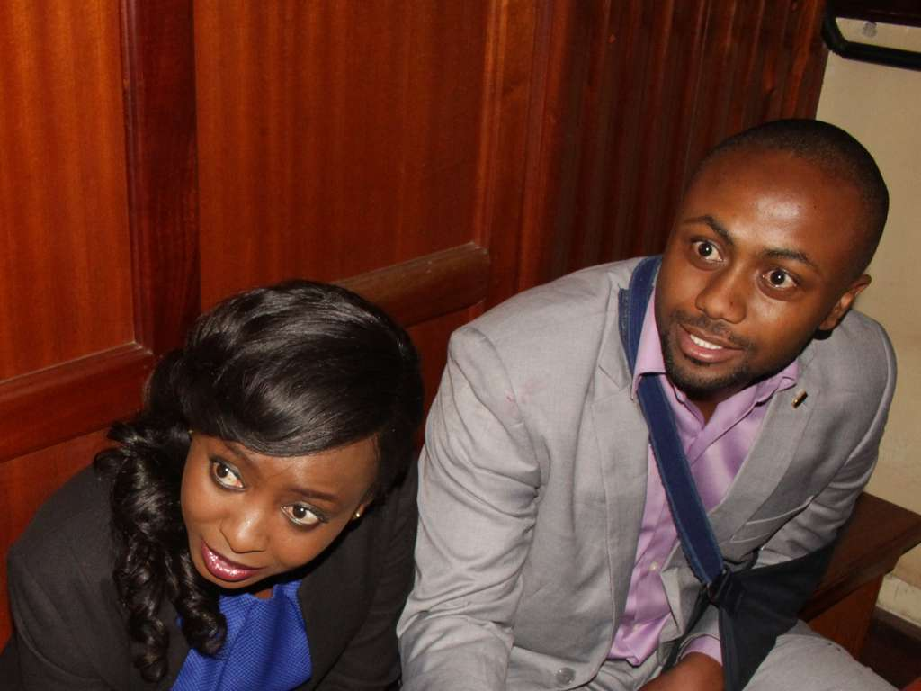 Jacque Maribe and Jowie