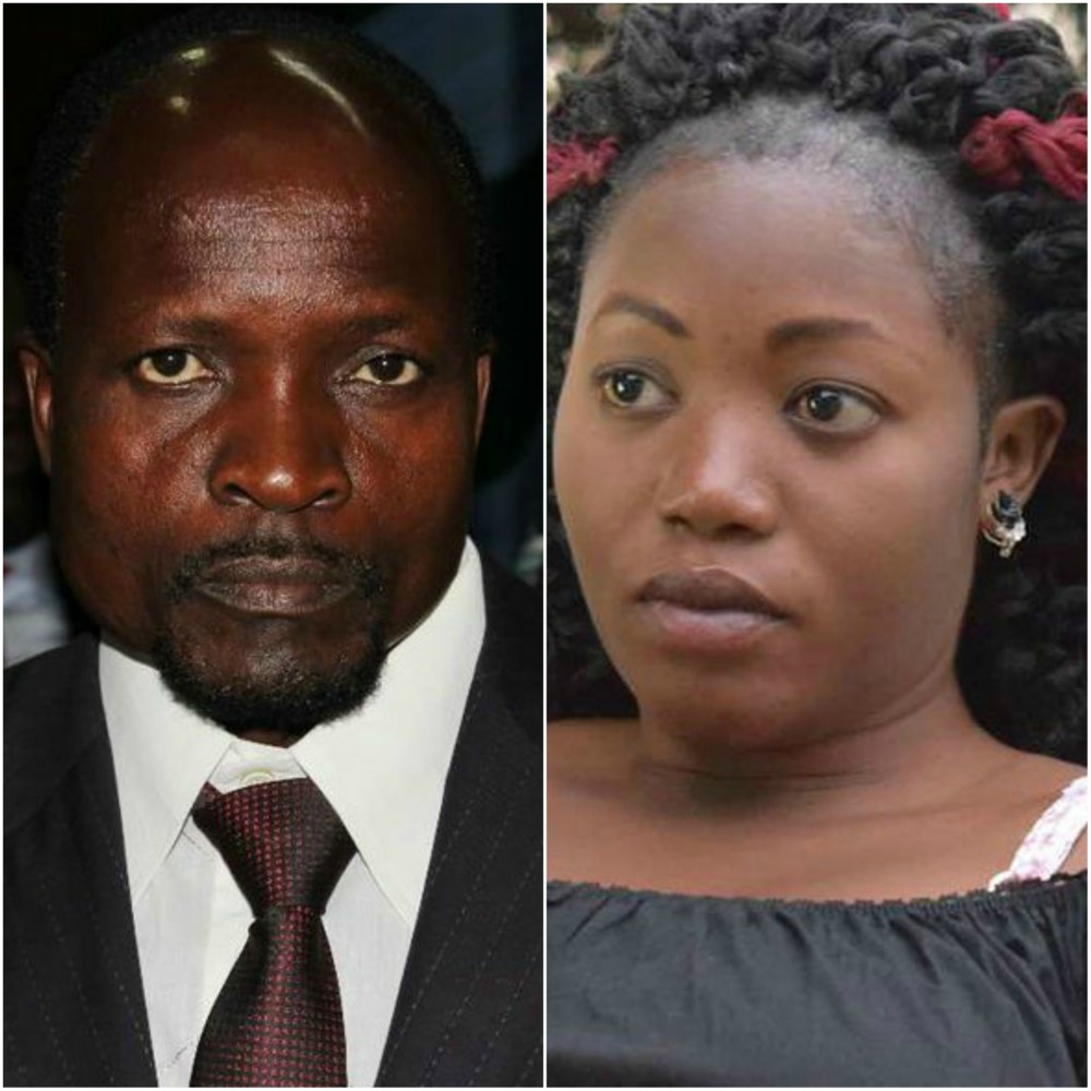 Sharon Otieno and Okoth Obado