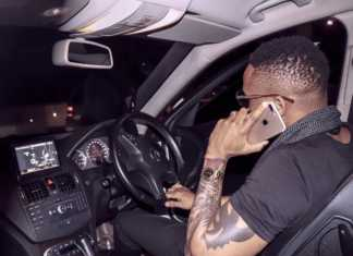 Otile and his new car