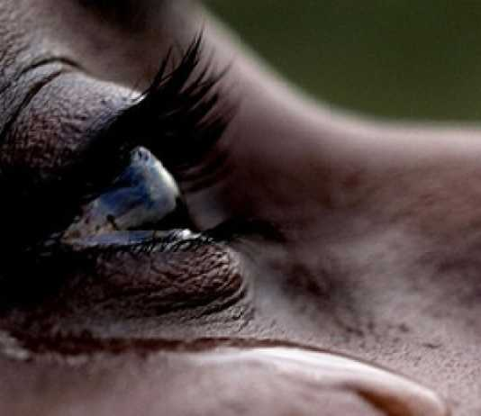 dowry woman crying
