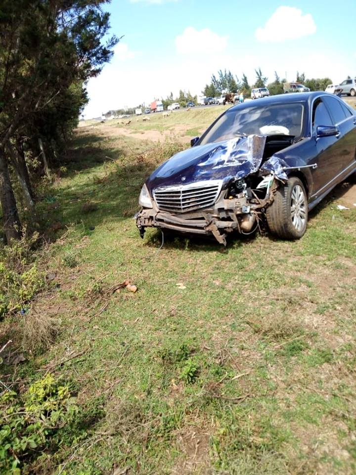 CJ Maraga accident