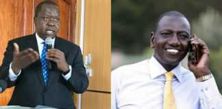 Matiangi vs DP Ruto