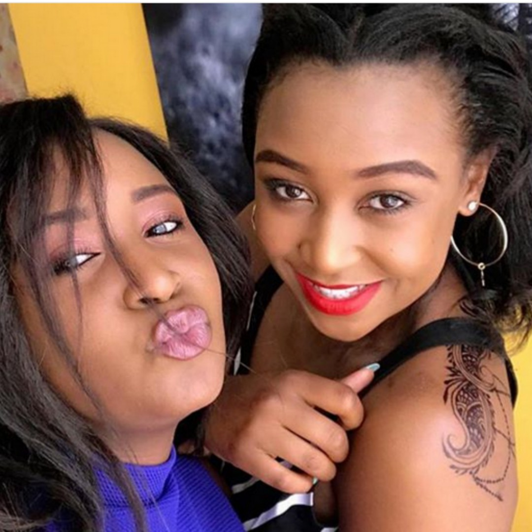 Mercy and Betty Kyallo
