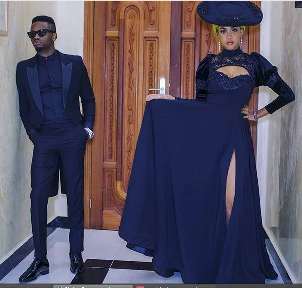 Diamond Platnumz and Tanasha Donna