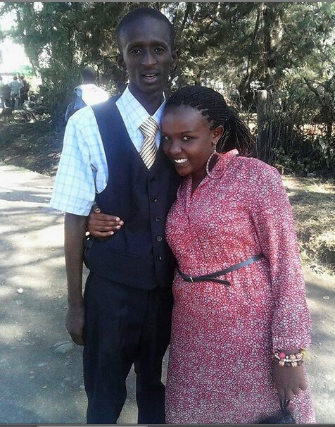 Njugush with his wife