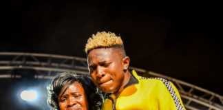 Mr Seed with his mother