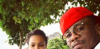 Ali Kiba and his wife