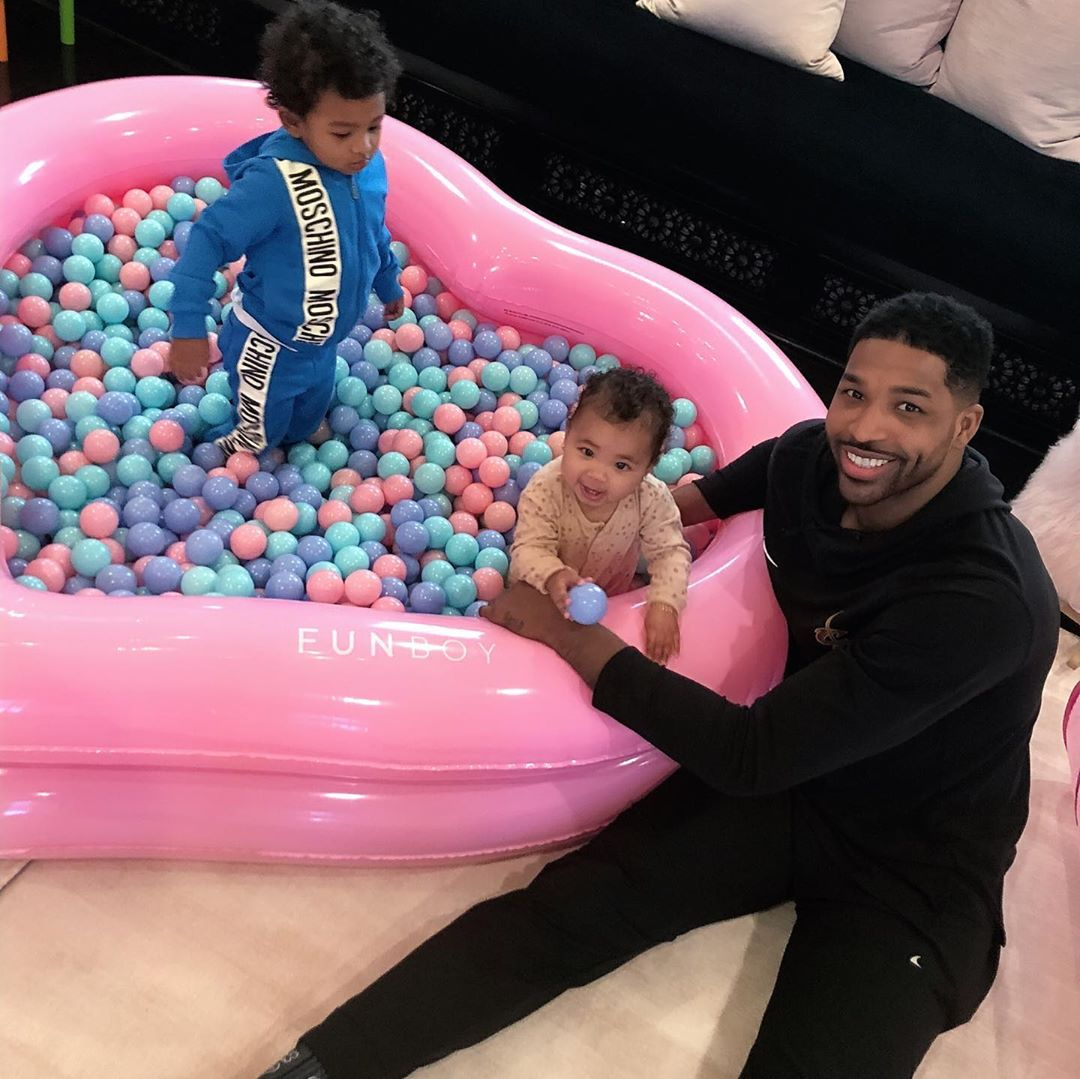 Tristan-Thompson-together-with-True