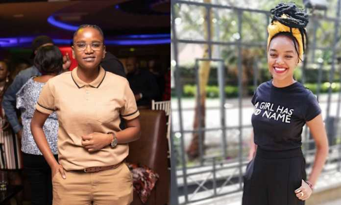 Edith Kimani and Fena Gitu