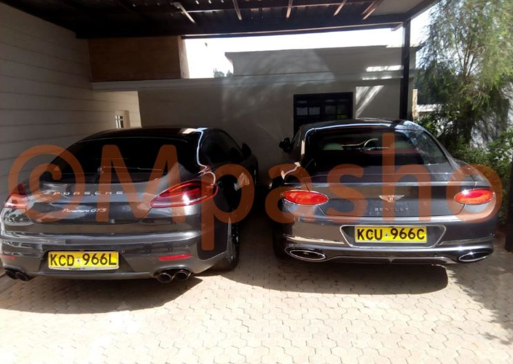 Jared Otieno's Porshe and Bentley