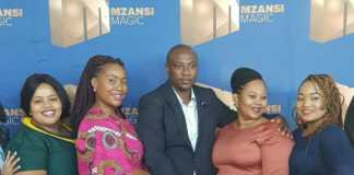 South African polygamist with his 4 wives