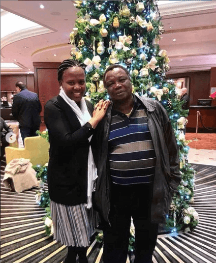 Mary Kilobi celebrated Atwoli's birthday