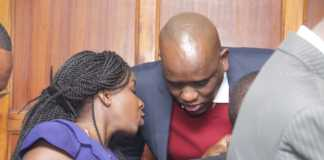Dennis Itumbi and jacque Maribe