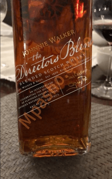 Bob Collymore limited edition Whisky