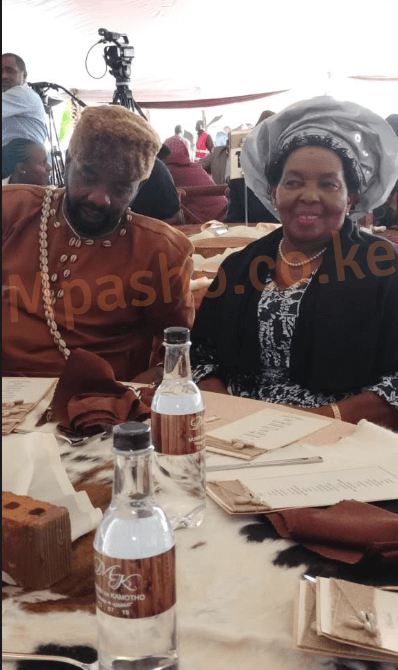 Anne Waiguru's mother and brother