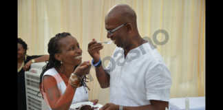 Bob Collymore and Wambui