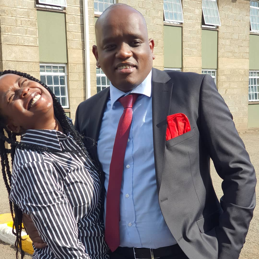 Itumbi and Jacque Maribe