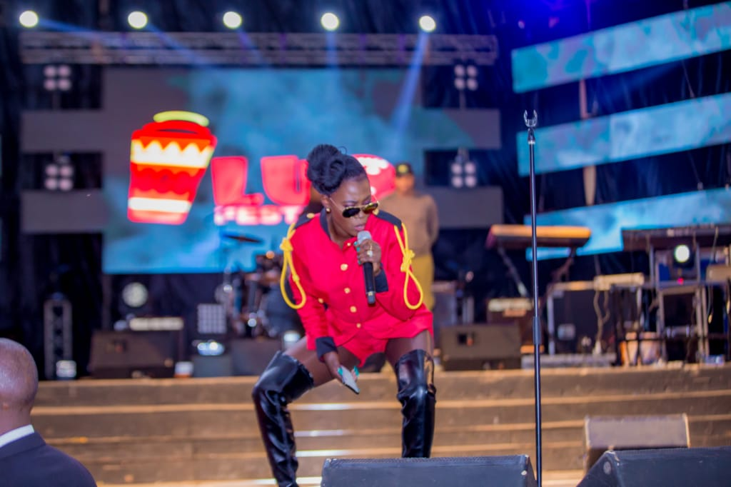 Akothee at Luo Festival