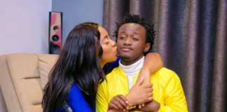 Bahati and wife