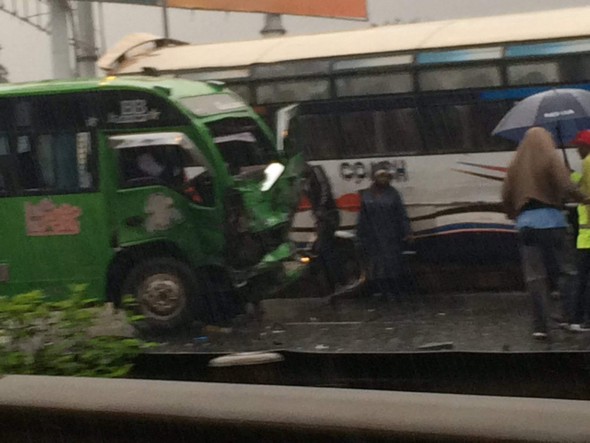 Thika road accident