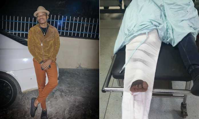 Otile Brown accident