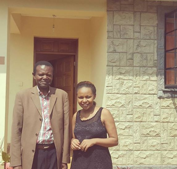 Size 8 and her father