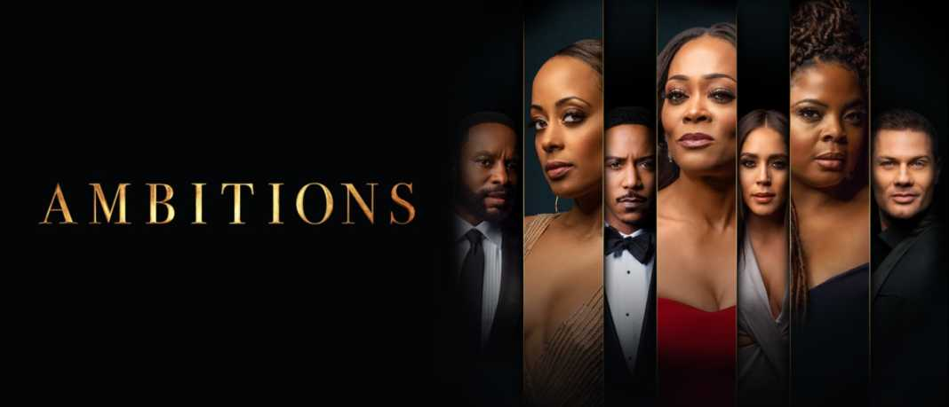 Ambitions is now showing on Showmax
