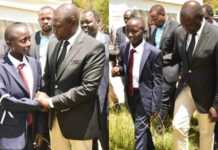 DP Ruto with Kenei's son