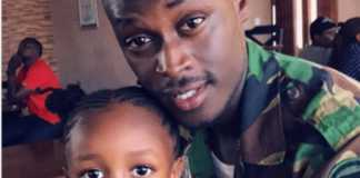 King Kaka with daughter