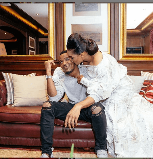 Ali Kiba and wife Amina